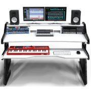 Music Commander desk white front view