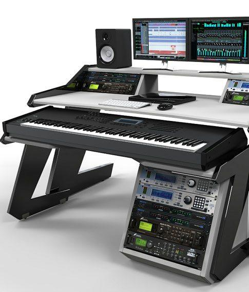 Best Keyboard Workstation For Home Studio : home studio desk workstation furniture ~ Vivirlamusica.com Haus und Dekorationen
