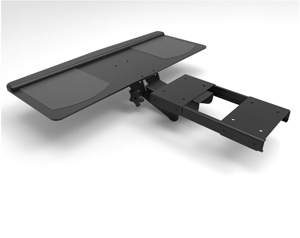 Pc Keyboard Swivel Tray Studio Desk Home