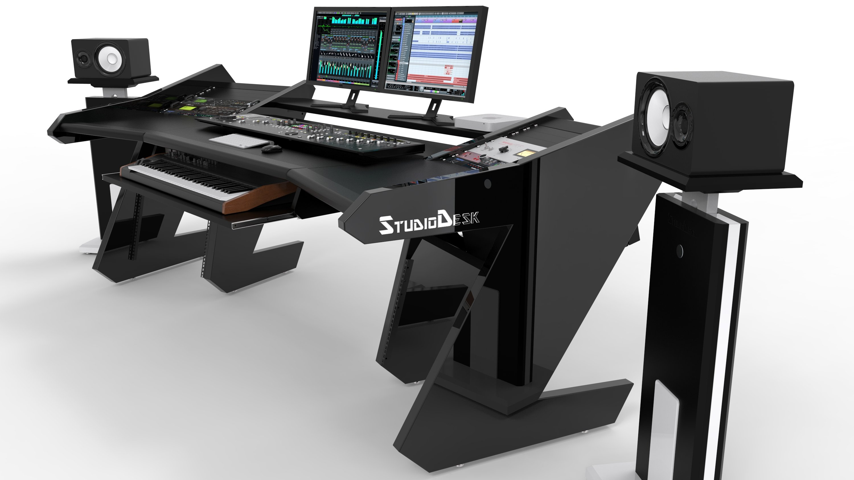 Pro Line S With Speaker Stands Studiodesk