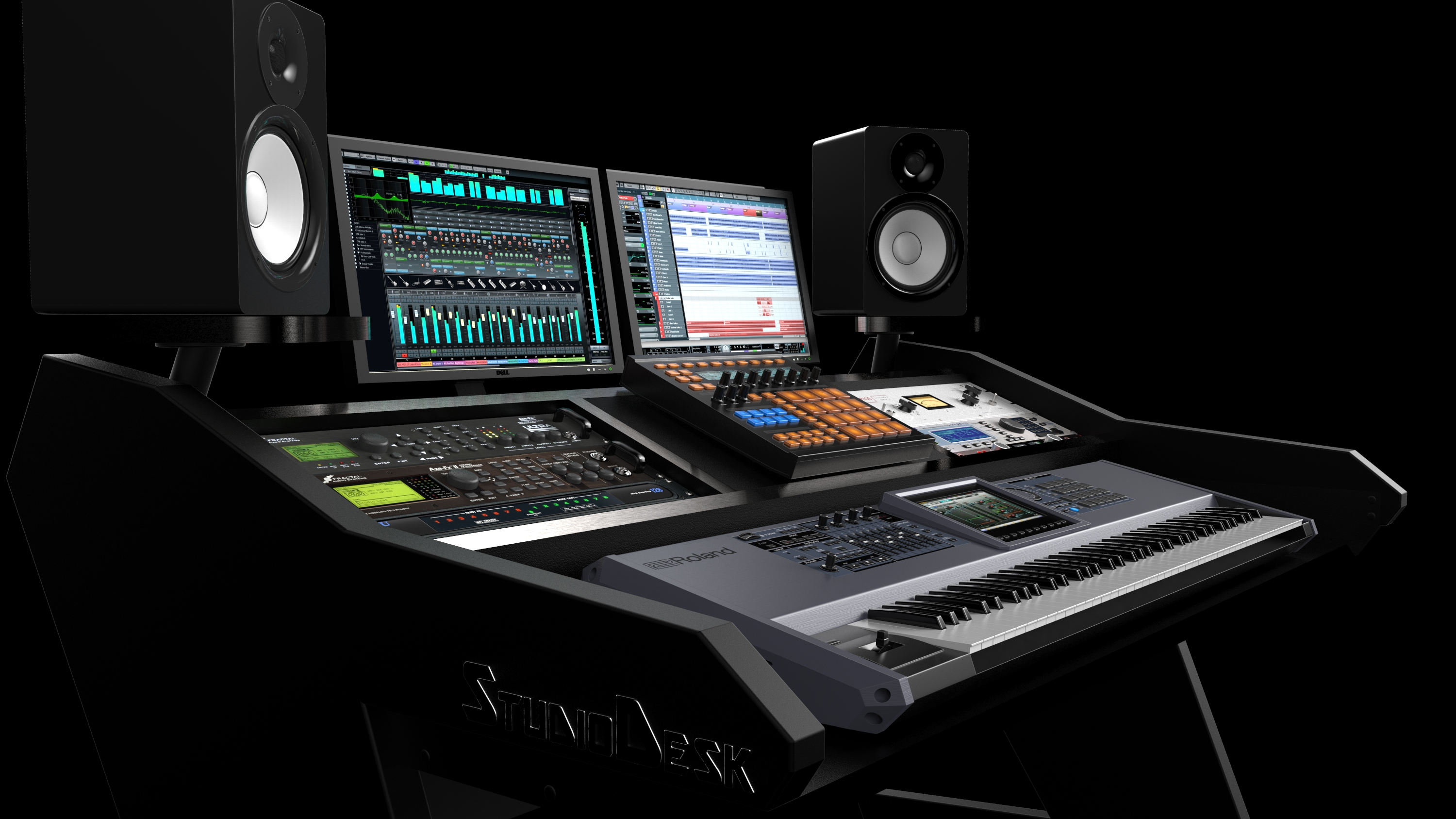 Virtuoso Desk - ultimate production workstation