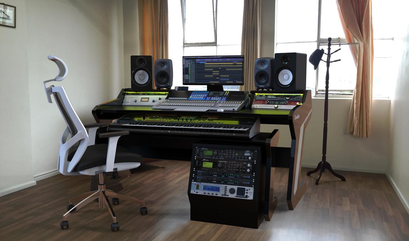 Audio Studio Desk Desk Ideas
