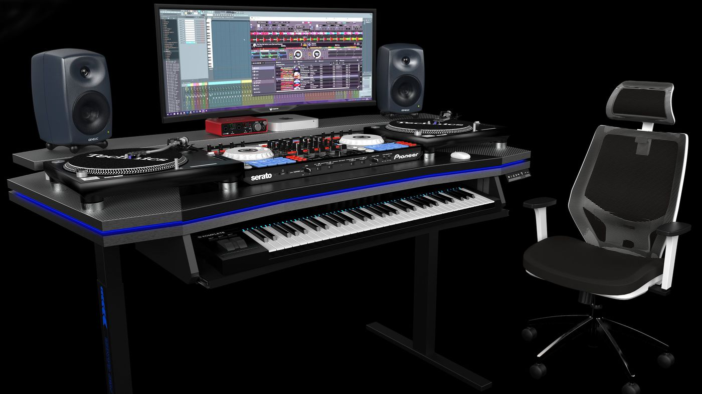 Music Studio Desk
