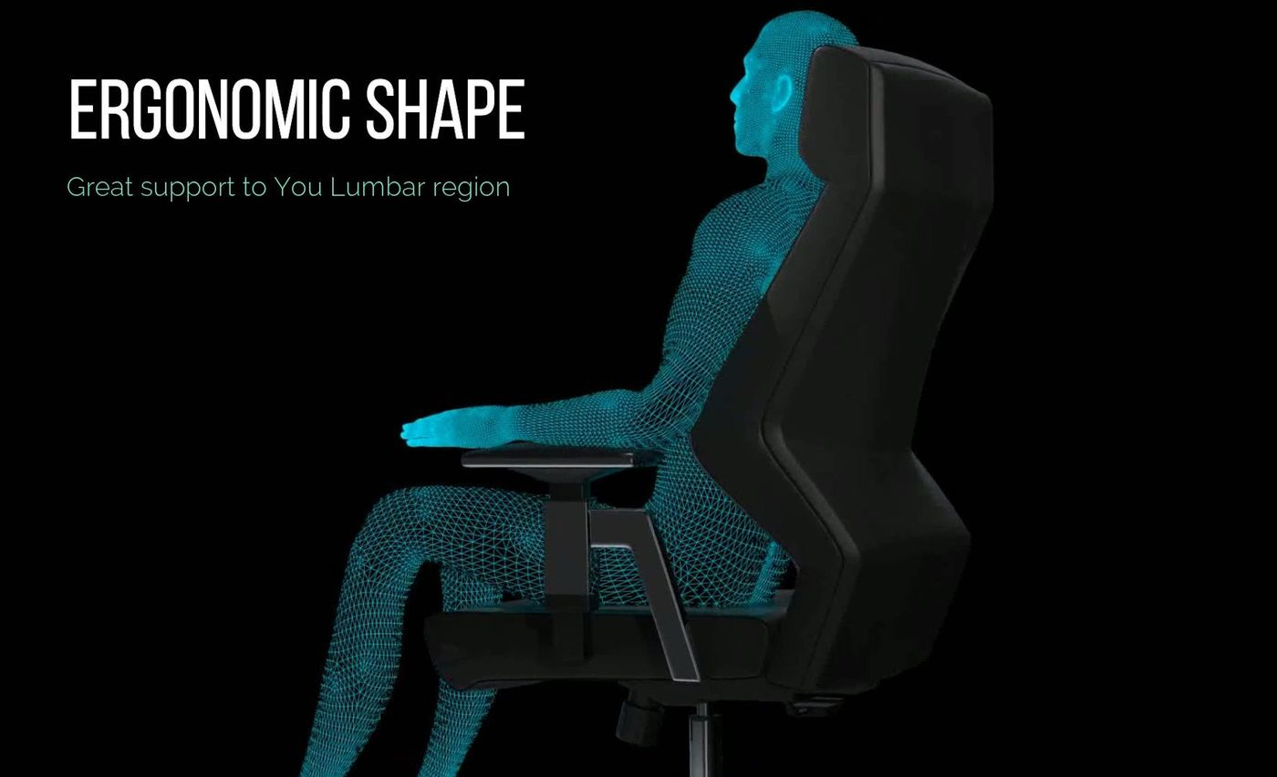 ERGO 2.0. ergonomic shape